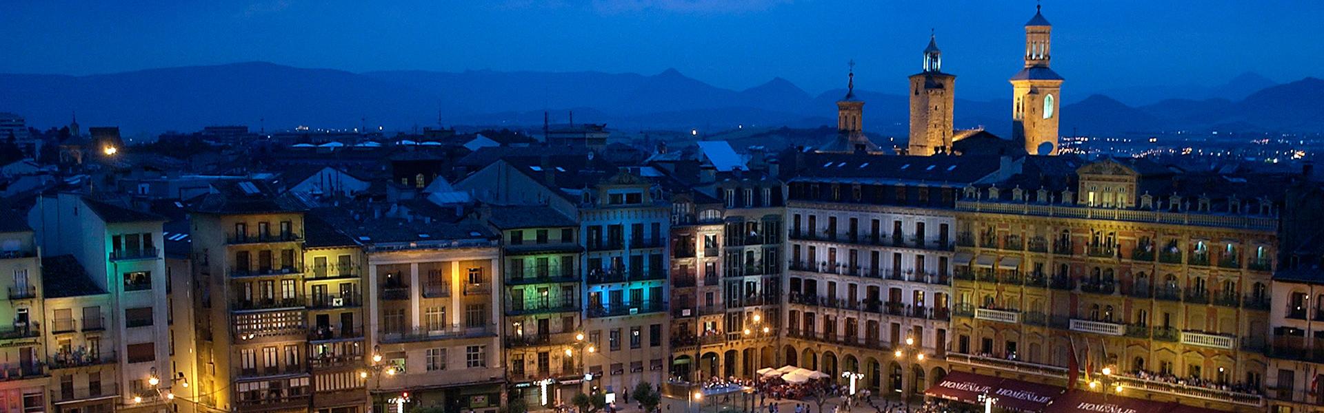 Pamplona la nuit